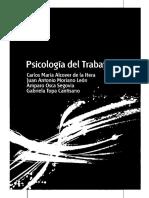Psicología Del Trabajo, 2012