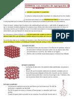Apunte Cambios de Estado de La Materia.