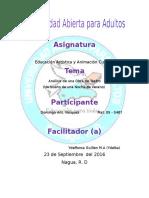 Tarea III Educacion Artisitica