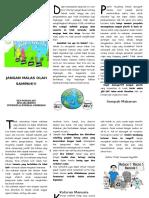 Bahan Bacaan Leaflet Tentang Sampah Dan Pengolahannya KKN Selokerto, Sempor, Kebumen, Jawa Tengah