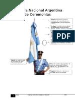 Bandera Nacional Argentina de Ceremonias