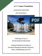 TCU EIF 2016 Annual Report
