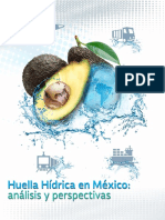 Huella Hídrica en México Análisis y Perspectivas