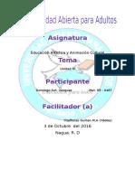 TAREA IV EDUCACION ARTISITCA.docx