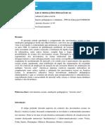 06 02 15 Movimentos Sociais e Mediacoes Pedagogicas