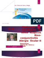 Alergia Ocular Manifestaciones Clinicas II Parte,
