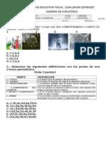Examen Segundo Quimestre
