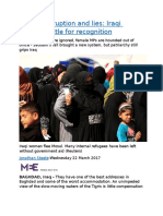 Power, corruption and lies  Iraqi women battle for recognition.docx
