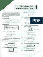 4. Teoría de Exponentes - COVEÑAS
