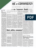 Cronache e Commenti Giugno 1974