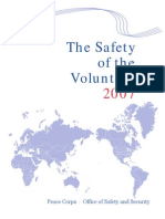Peace Corps The Safety of the Volunteer 2007