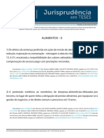 Jurisprudência Atualizada - STJ - Alimentos (1)