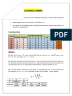 Bending Test Data Sheet Sec 5