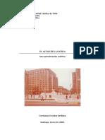 ESCOBAR CONSTANZA - El altar de la Patria. Una aproximacion estetica.pdf