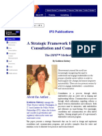 Strategic Framework Stakeholder Consultation