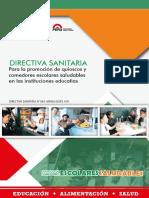 Directiva de Quioscos Escolares (1)