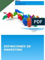 1. Definicion de Marketing Farmaceutico