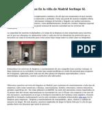 Limpieza De Oficinas En la villa de Madrid Serlingo SL