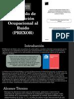 Protocolo de Exposición Ocupacional Al Ruido