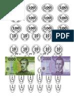 Set de Monedas y Billetes