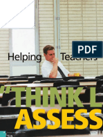 helping teachers think like assessors