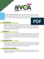 Wisconsin Venture Capital Association flier