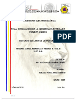 Regulacion Industria Electrica de Los Estados Unidos Tarea 2