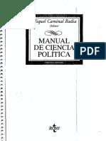 Manual de C. Politica, Cap I