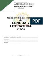 Cuadernillo de Lengua y Literatura 2º Año Versión Final
