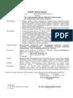 Surat Keputusan Struktural
