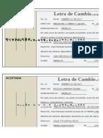 Formato Letra de Cambio