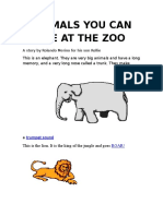 _animals You Can See at the Zoo