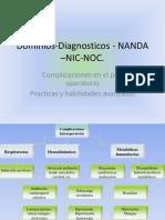 Dominios Diagnosticos NANDA –NIC NOC