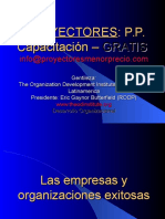PROYECTORES_Empresas_y_Org_Exitosas.pps