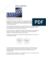 Manual para fabricar Angel eyes