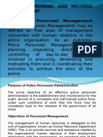 POLICE PERSONNEL RECORDS MANAGEMENT.ppt