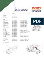 WSPS Kit Listing