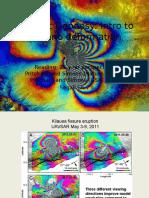 2016 Class6 Intro Volcano Deformation