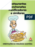 Orientações Para Restaurantes Lanchonetes Panificadoras e Similares Arq. 8