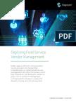 Digitizing Field Service Vendor Management