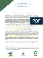Carta Invitacion Somosaguayvida