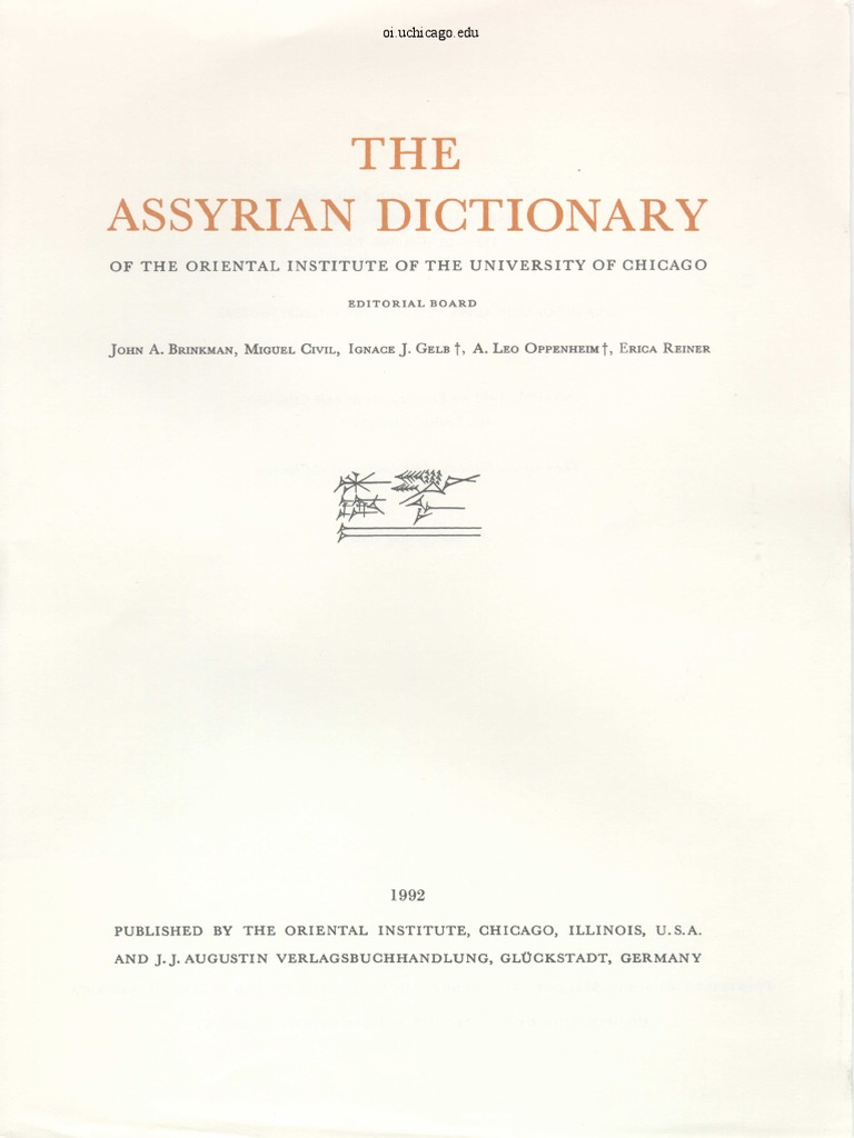 Dicionário Assírio s shin 3 | Ancient Near East | Archaeology Of Iraq