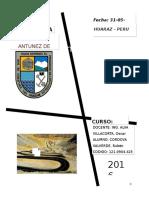 Primer Informe Caminos