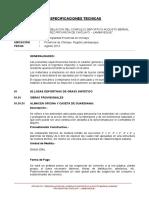 Especificacione Complejo Chiclayo Ultimo