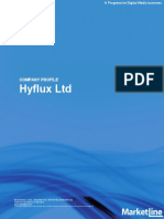 MarketLine Hyflux Report