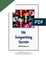 Hit Songwriting Secrets
