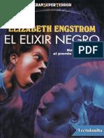 Elizabeth Engstrom - El Elixir Negro