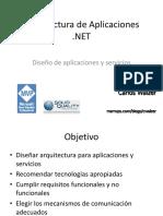 Arquitectura de Aplicaciones .NET