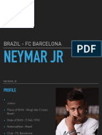 neymar presentation