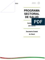 Program a Sector Salud